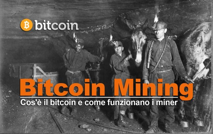 Bitcoin Mining e miner