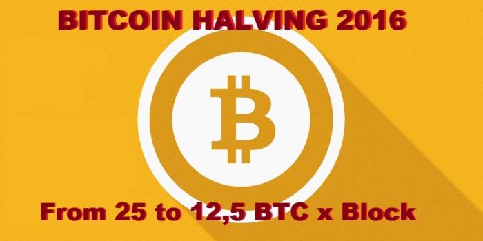Bitcoin Halving - Dimezzamento Bitcoin